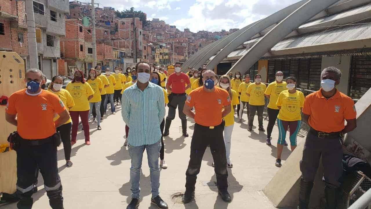 Moradores das periferias unem-se para minimizar impactos da COVID-19