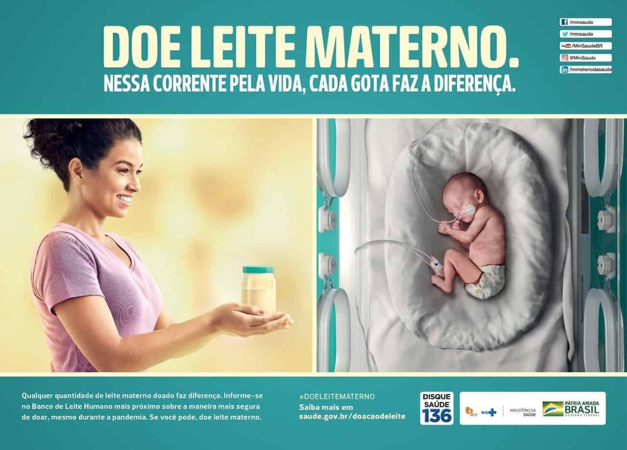 Durante a pandemia, doações de sangue e leite materno têm baixa significativa
