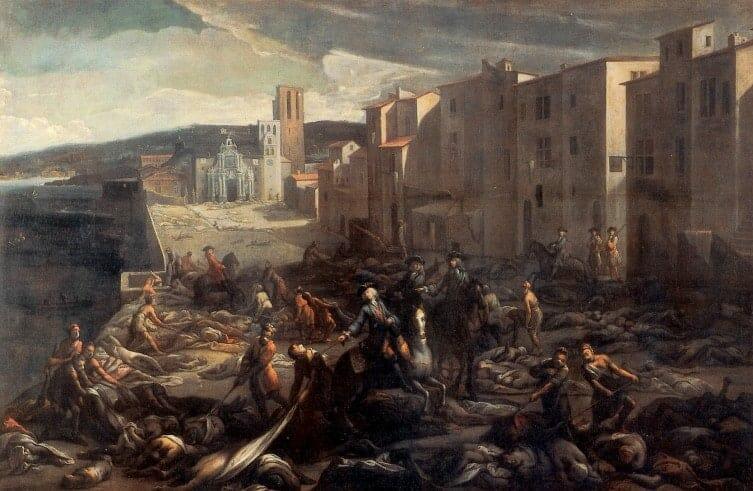 A Peste de Marselha e o 'Bom Bispo'