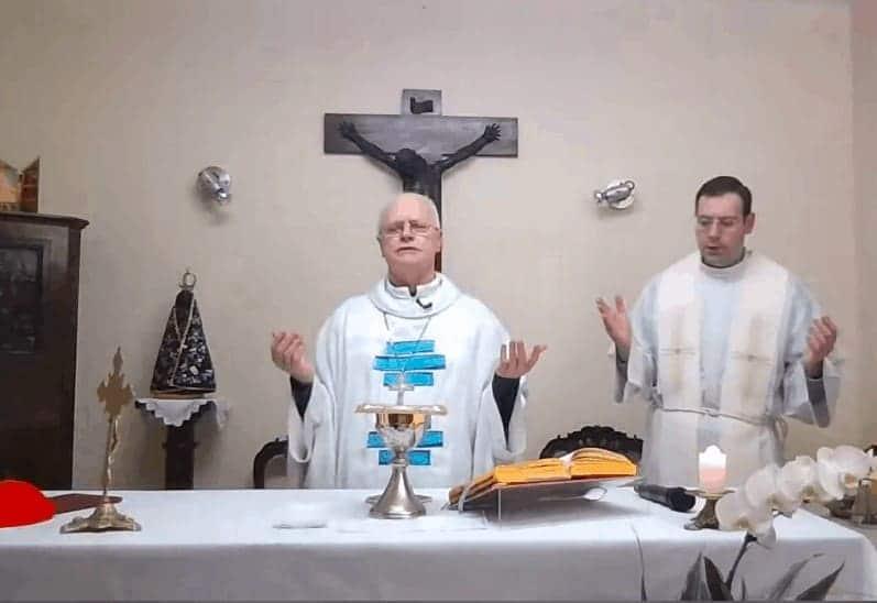 'Pela intercessão de Nossa Senhora do Carmo, subamos ao monte que é Cristo'