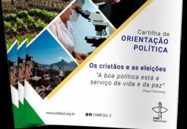 Cartilha apresenta orientações aos cristãos nas eleições