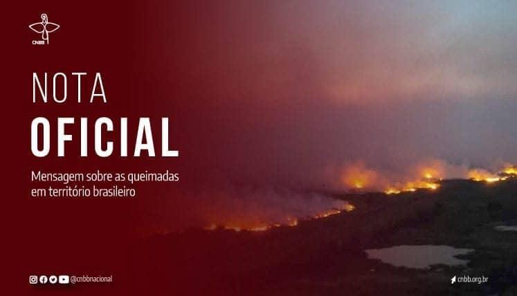 Presidência da CNBB se manifesta sobre queimadas na Amazônia, Cerrado e Pantanal