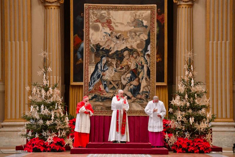 Papa Francisco: 'Graças a este Menino, todos podemos ser realmente irmãos'
